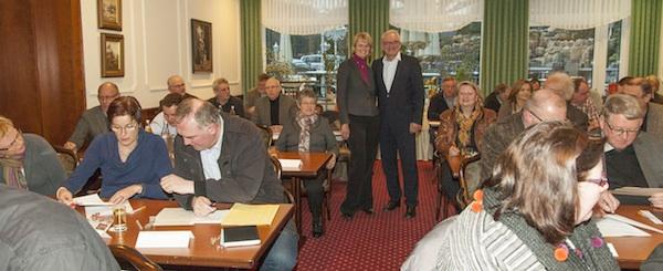 Anja Karliczek und Jörg Max Fröhlich