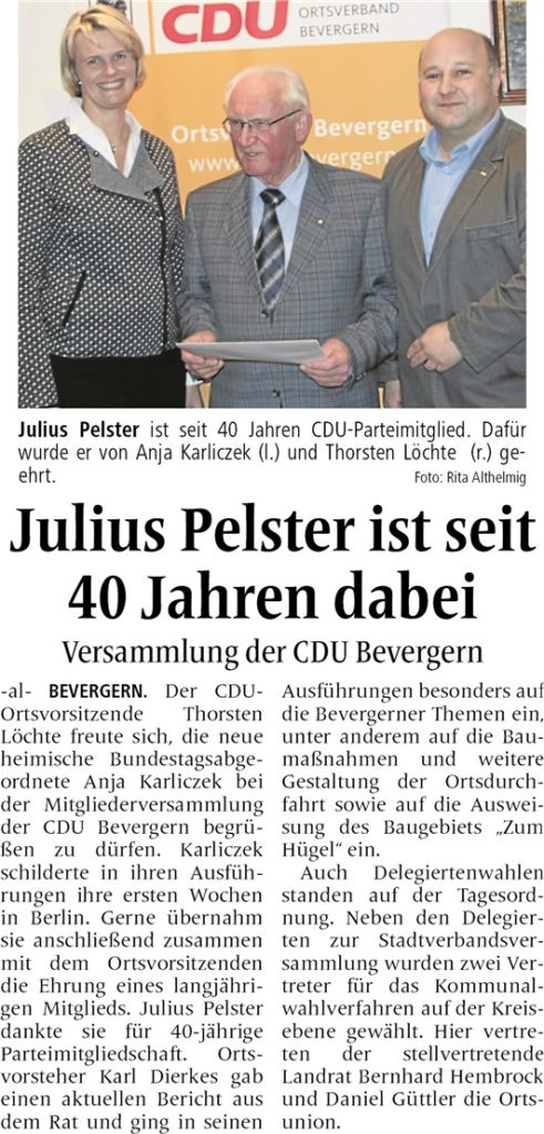 Quelle Ibbenbürener Volkszeitung