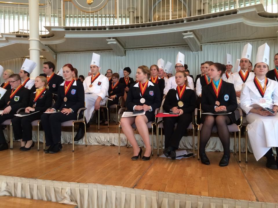 Wettbewerb 35. Deutsche Jugendmeisterschaften gastgewerbliche Ausbildung
